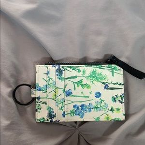 Target Bags - Target Small Floral Wallet / ID and Card Holder